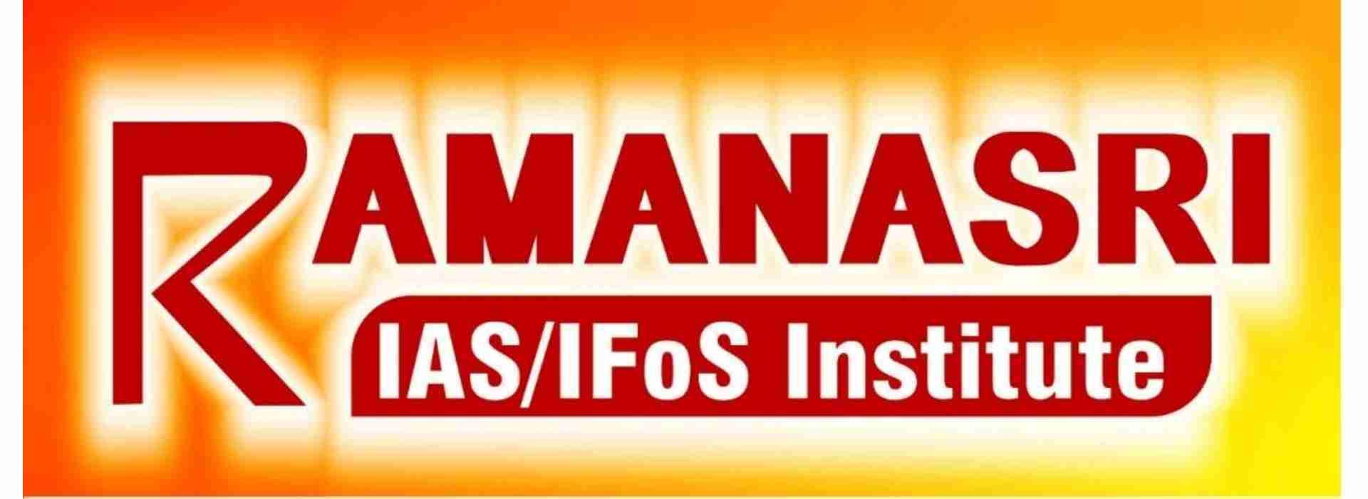 Ramanasri_IAS_Logo_Banner